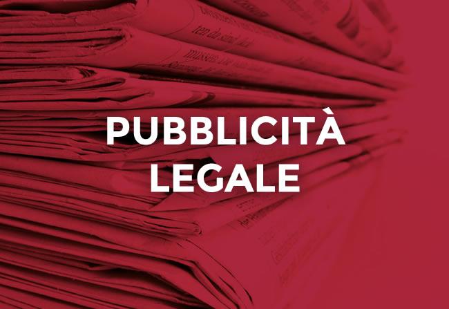 Pubblicità Legale