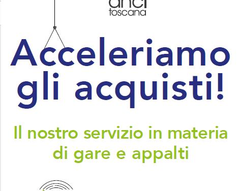 WebMeeting per conoscere il servizio di supporto giuridico e operativo all'attività contrattuale dei comuni svolto da Anci Toscana attraverso PA&Mercato