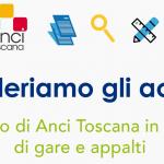 Al via il servizio di supporto giuridico e operativo all'attività contrattuale dei comuni svolto da Anci Toscana attraverso PA&Mercato