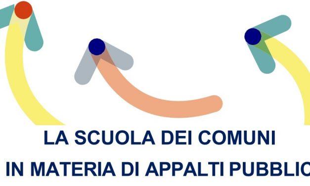 LA SCUOLA DEI COMUNI IN MATERIA DI APPALTI PUBBLICI: aperte le iscrizioni al percorso formativo proposto da La Scuola Anci Toscana